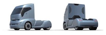 Design study of a future Isuzu truck