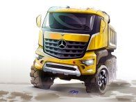 Mercedes-Benz previews Arocs