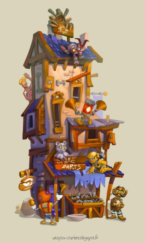 Spare Parts House by Catell-Ruz